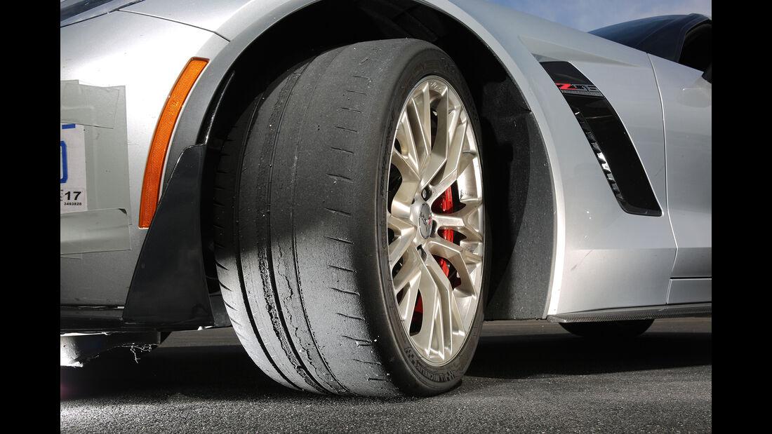 Chevrolet Corvette Z06, Felge