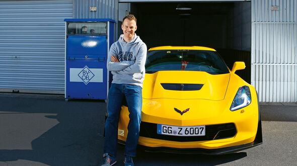 Chevrolet Corvette Z06, Frontansicht, Christian Gebhardt