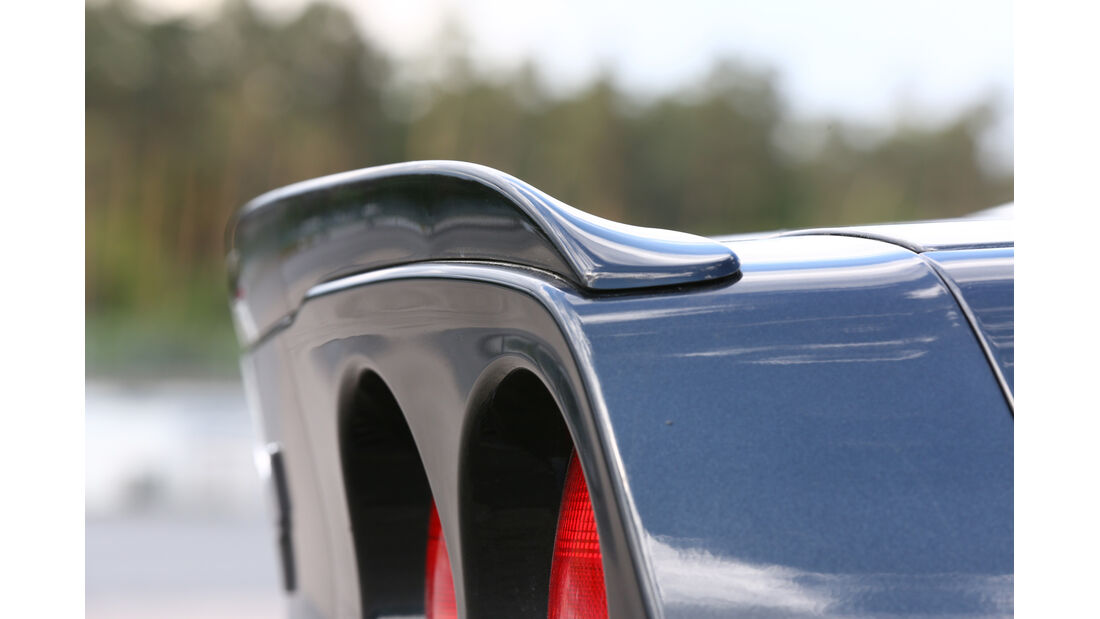 Chevrolet Corvette Z06, Heckspoiler