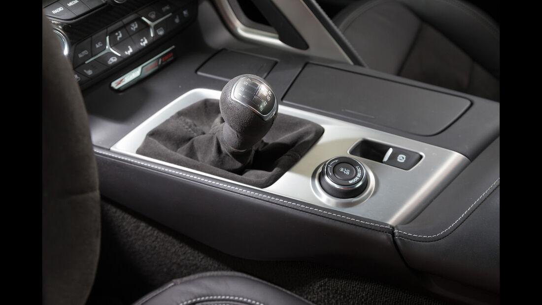 Chevrolet Corvette Z06, Mittelkonsole