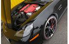 Chevrolet Corvette Z06, Motorhaube, Motor