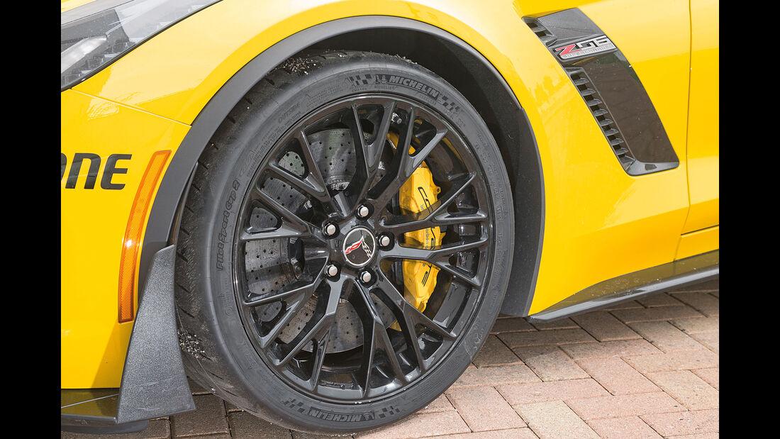 Chevrolet Corvette Z06, Rad, Felge