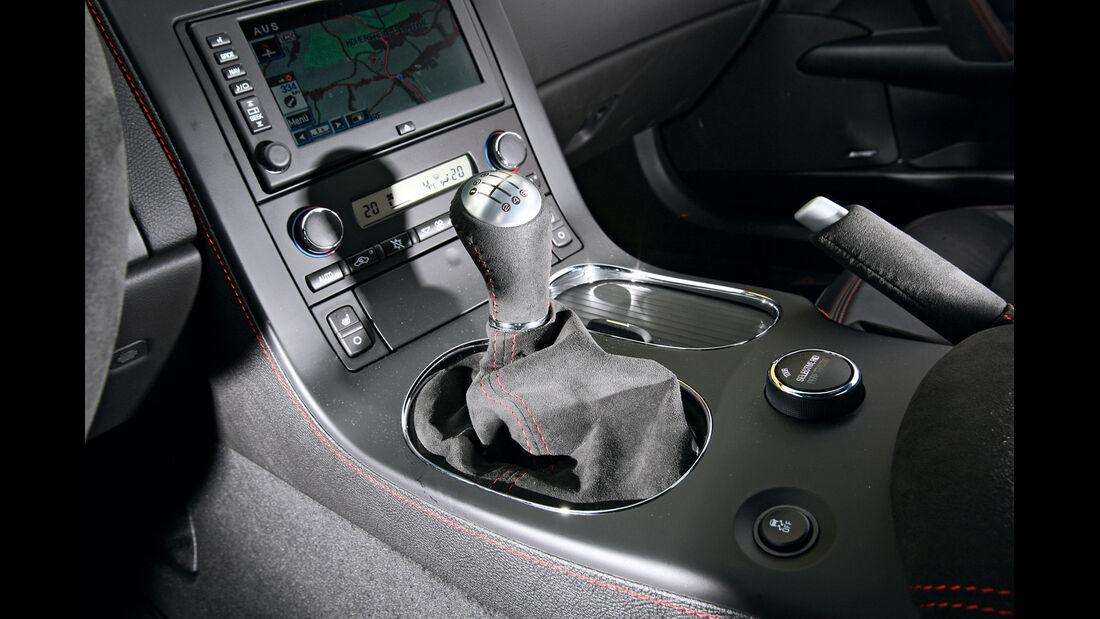 Chevrolet Corvette Z06, Schalthebel, Schaltknauf