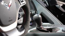 Chevrolet Corvette Z06, Schalthebel