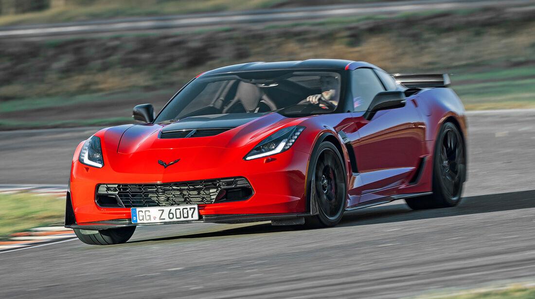 Chevrolet Corvette Z06 - Serie - Coupes bis 150000 Euro - sport auto Award 2019