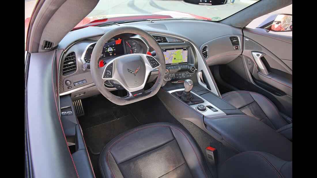 Chevrolet Corvette Z06 Z07 Performance, Cockpit