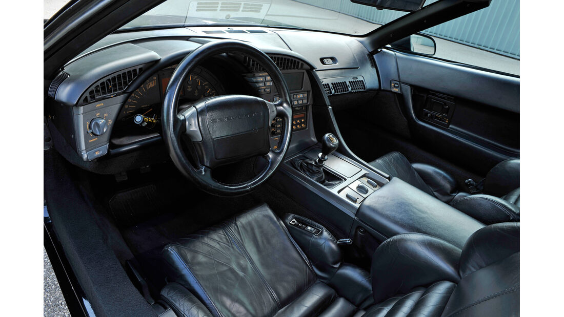 Chevrolet Corvette ZR-1, Cockpit