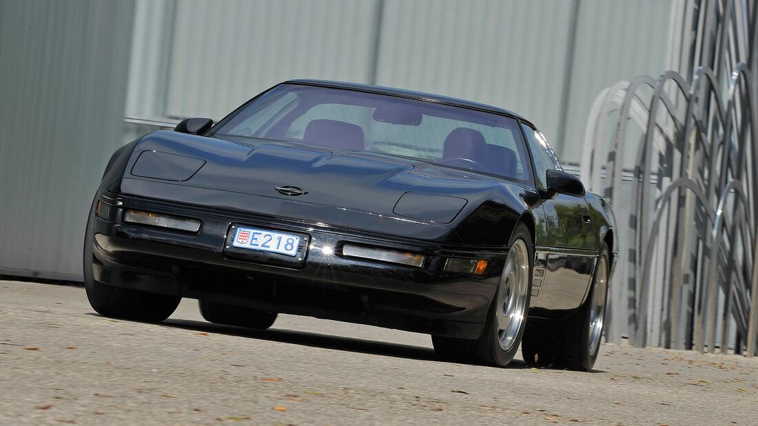 Chevrolet Corvette ZR-1, Frontansicht