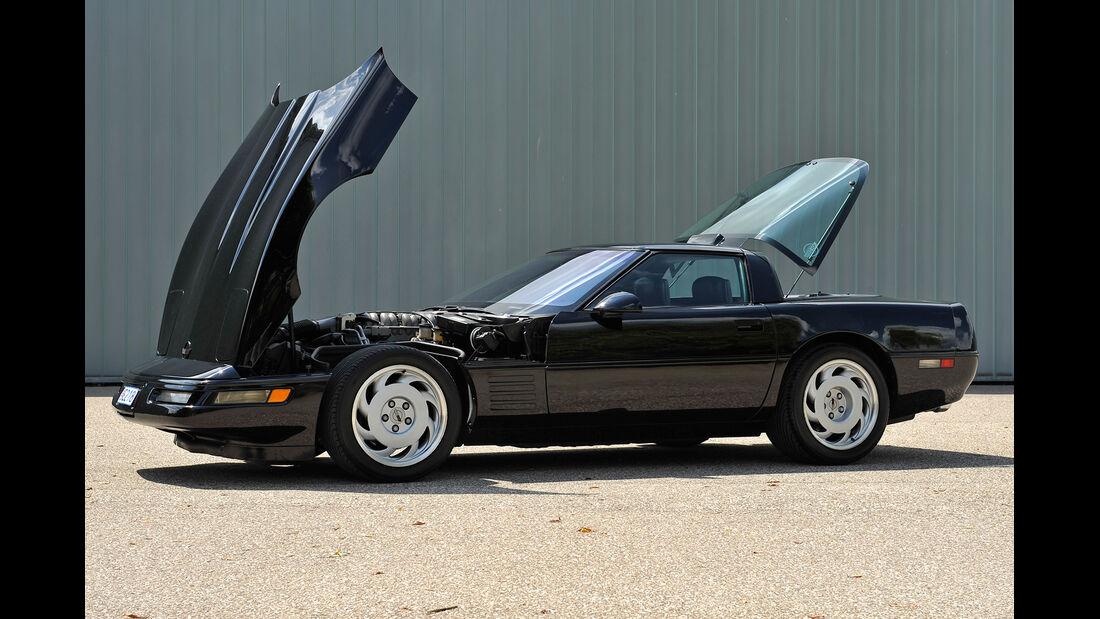Chevrolet Corvette ZR-1, Motorhaube, Heckklappe