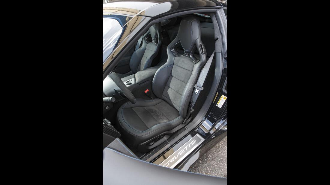 Chevrolet Corvette ZR1, Interieur