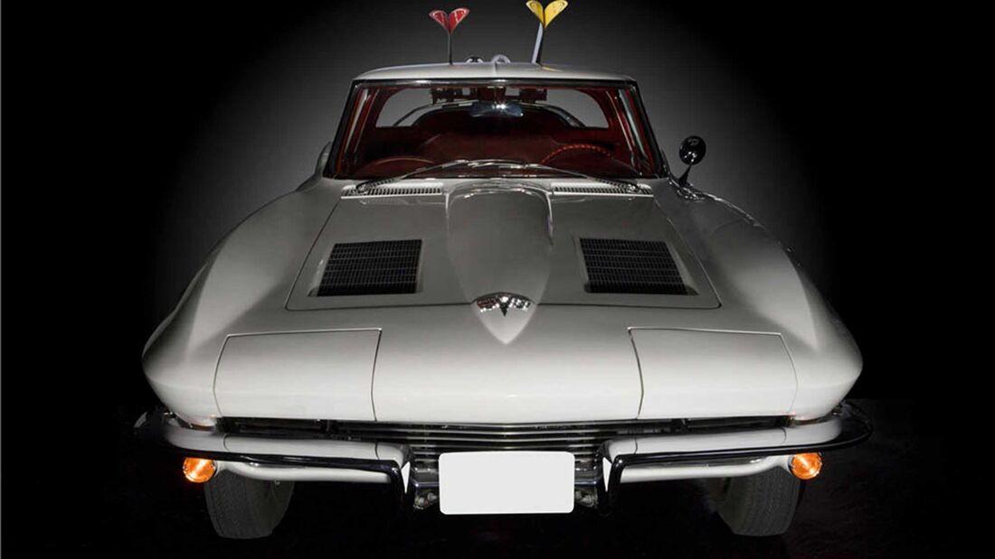 Chevrolet Corvette ski car Hertz (1963)