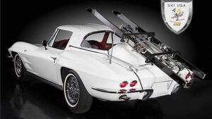 Chevrolet Corvette ski car Hertz (1963)