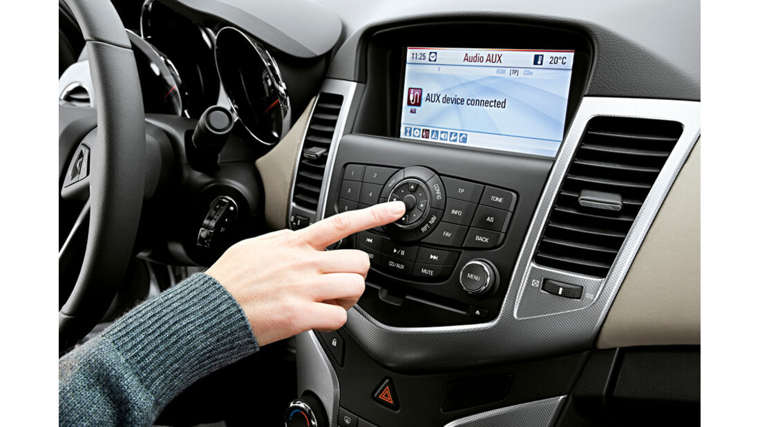 Chevrolet Cruze 2.0 LTZ, Navi