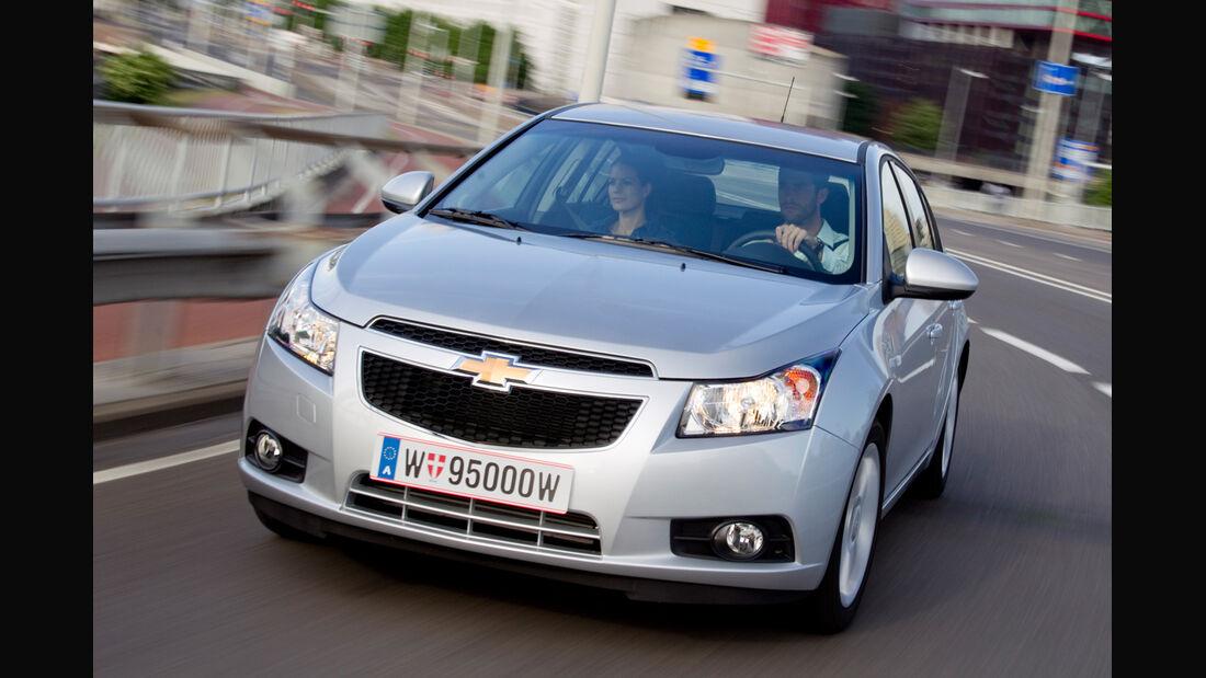 Chevrolet Cruze, Frontansicht