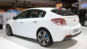 Chevrolet Cruze Paris 2010