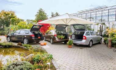Chevrolet Cruze SW, Kia Ceed SW, Skoda Octavia Kombi, Heckklappe