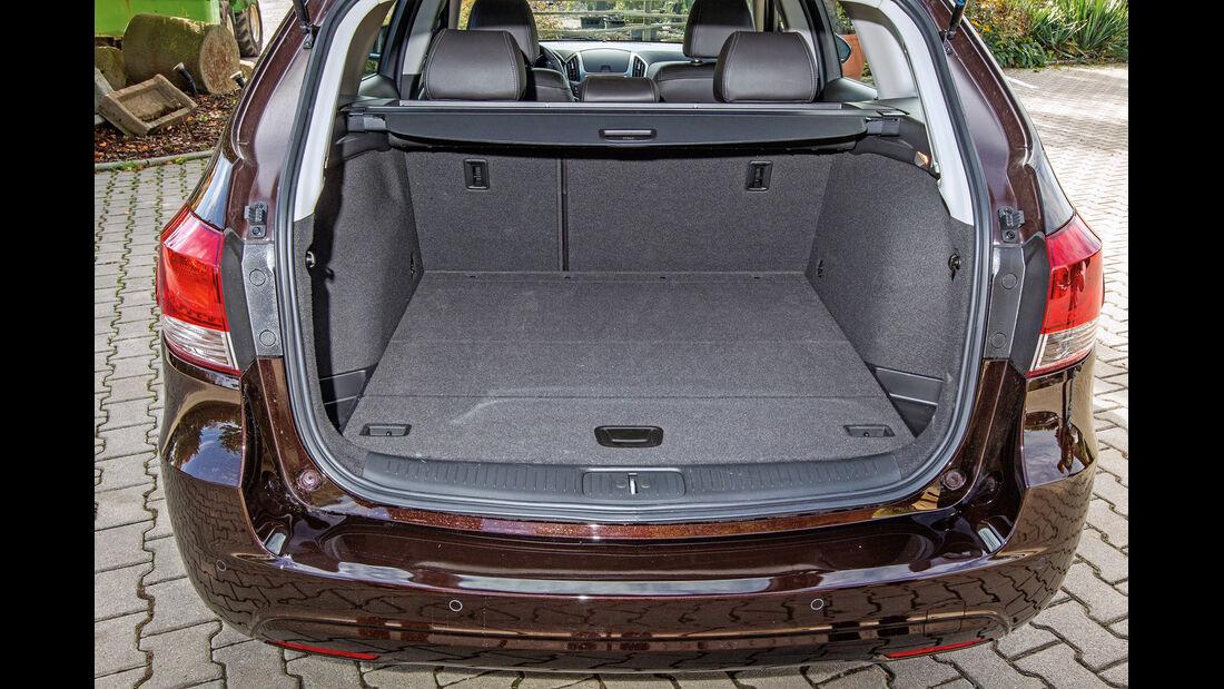 Chevrolet Cruze SW, Ladefläche, Kofferraum