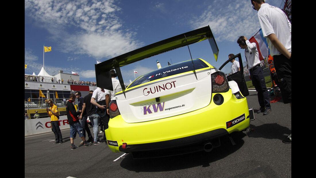 Chevrolet Cruze - WTCC - Heckflügel
