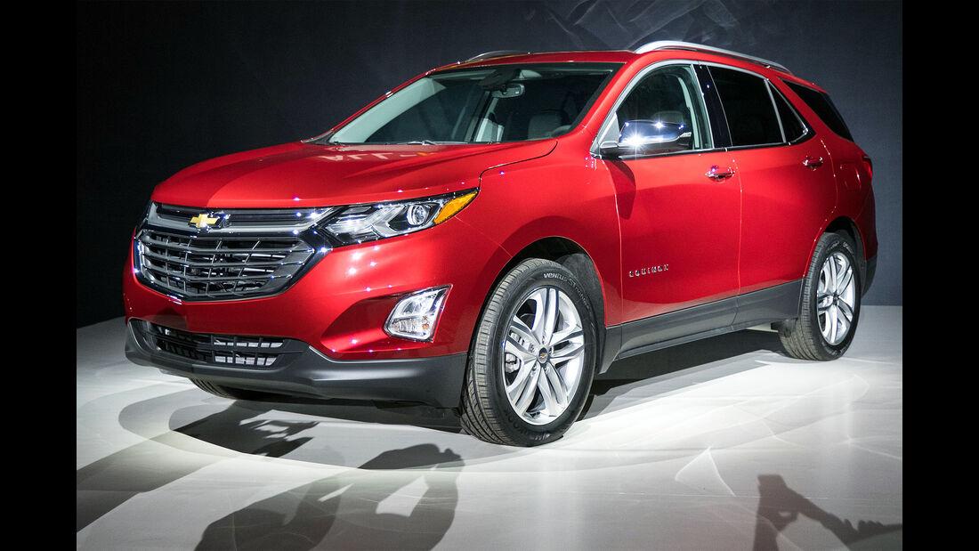 Chevrolet Equinox 2018 Weltpremiere