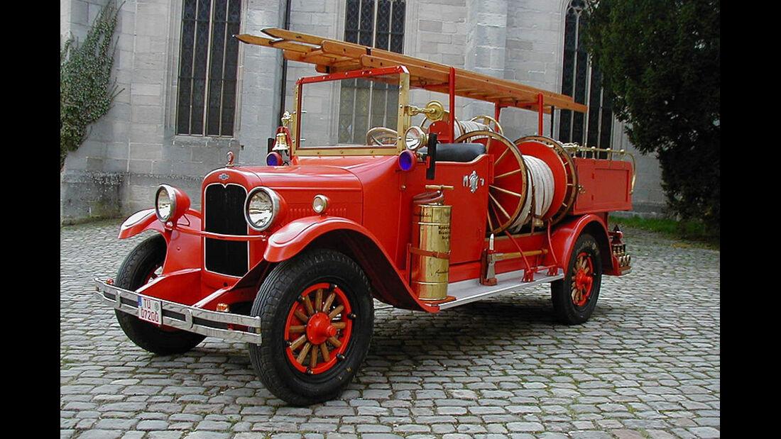 Chevrolet Fire Car, Feuerwehrauto von 1926