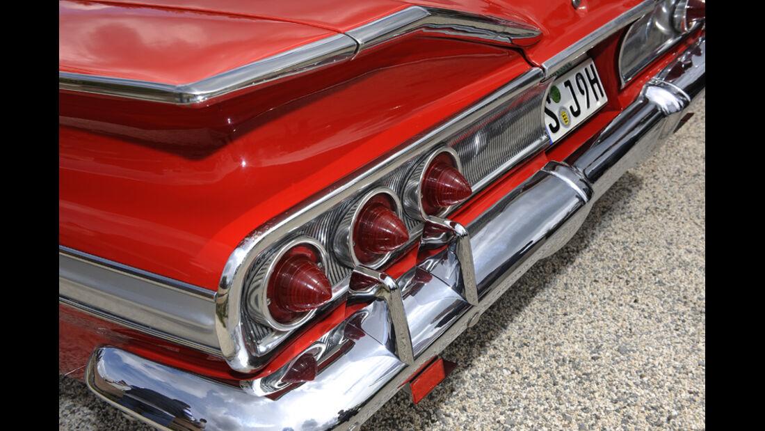 Chevrolet Impala, Heck, Stoßstange