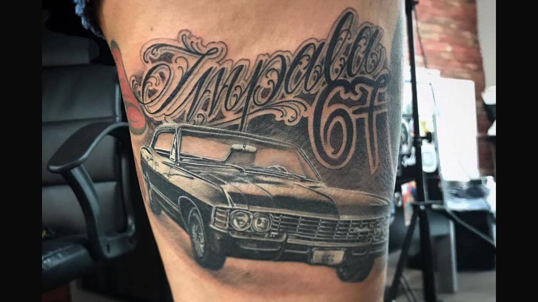 Chevrolet Impala Tattoo Haut Rocker Bruchsal