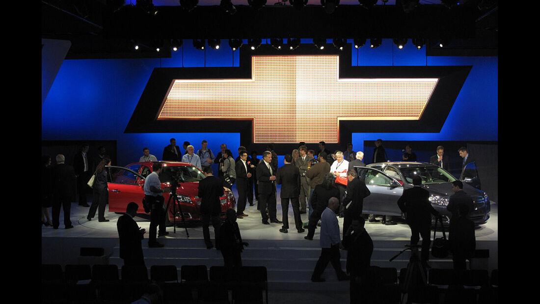 Chevrolet Malibu 2012, Messestand