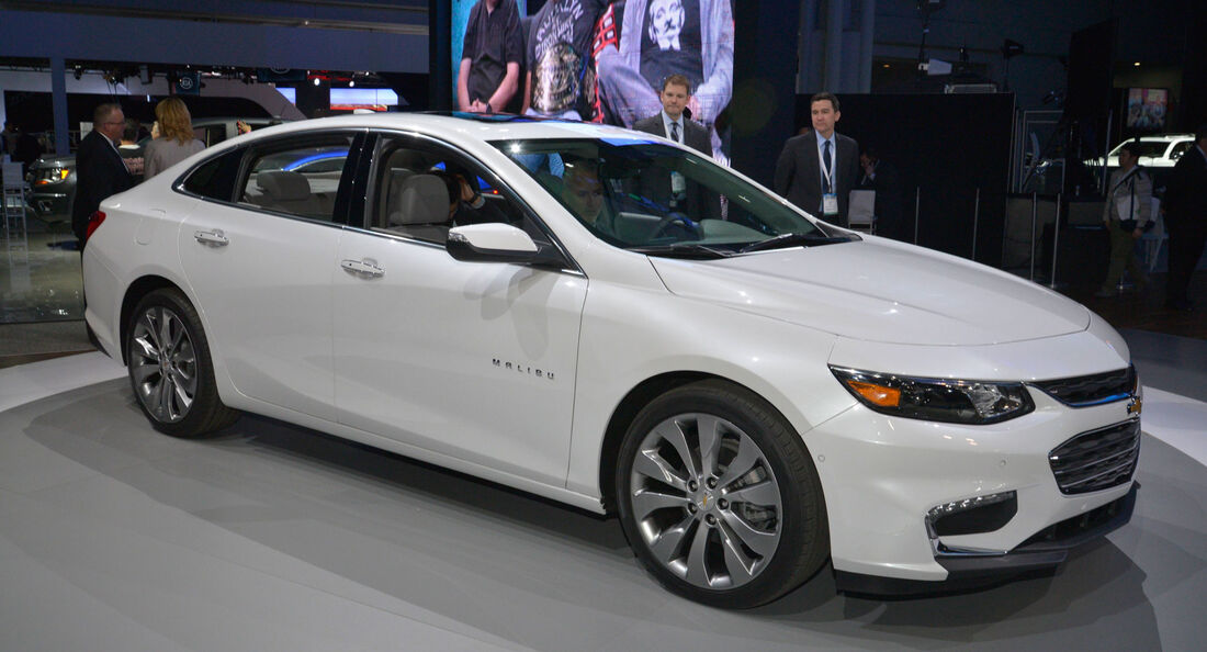 Chevrolet Malibu - New York Auto Show 2015