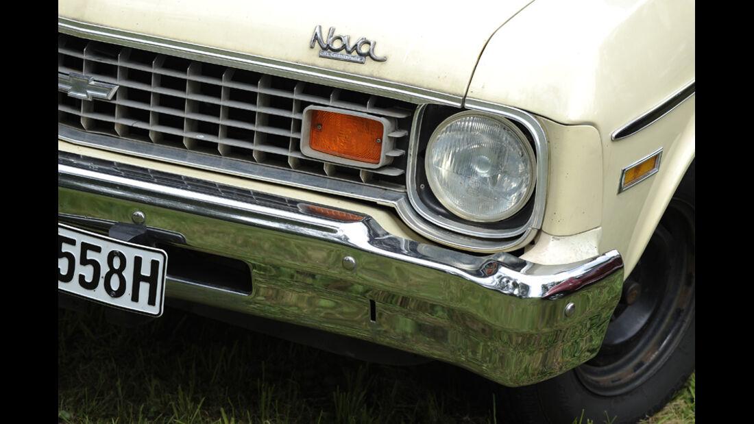 Chevrolet Nova, Kühlergrill