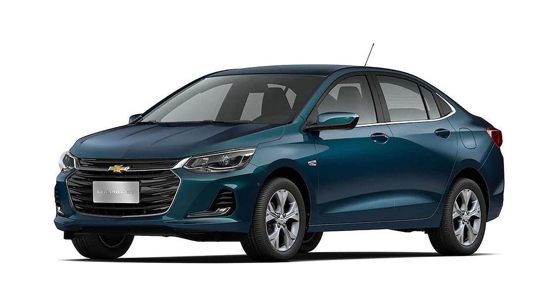 Chevrolet Onix Plus Brasilien