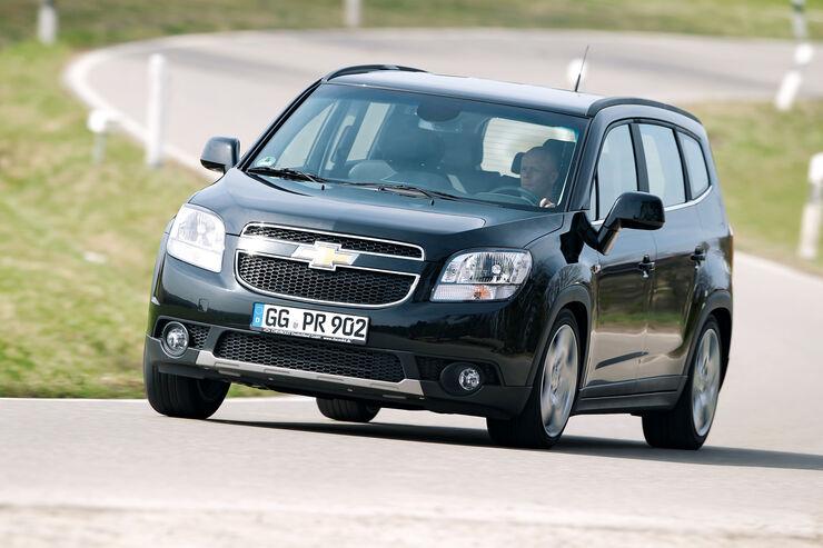 Chevrolet Orlando, Frontansicht