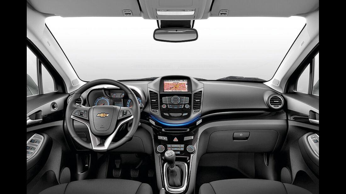 Chevrolet Orlando Innenraum