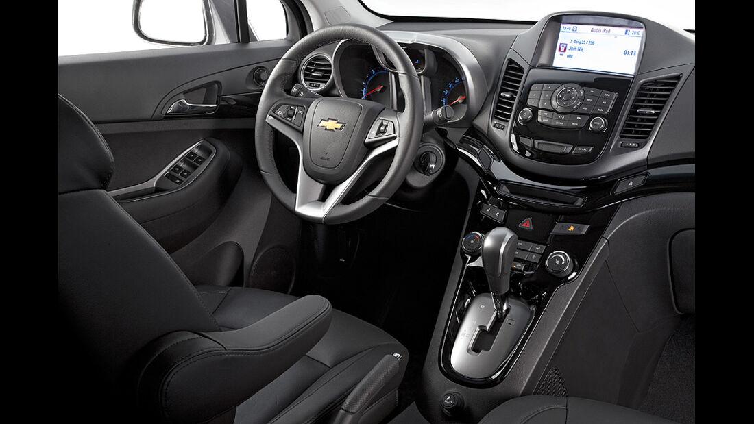 Chevrolet Orlando, Innenraum