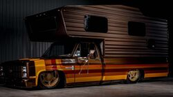 Chevrolet Pickup-Camper Brown Sugar