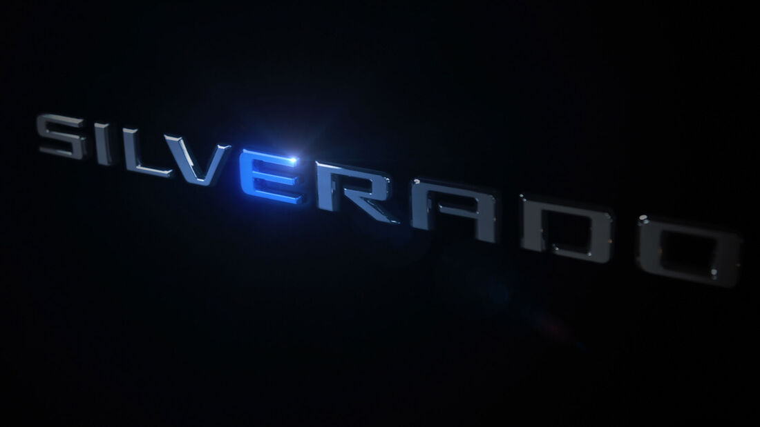 Chevrolet Silverado Elektroversion Teaser