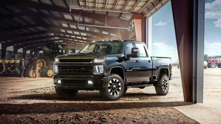 Chevrolet Silverado Hd Pickup 2021 Auto Motor Und Sport