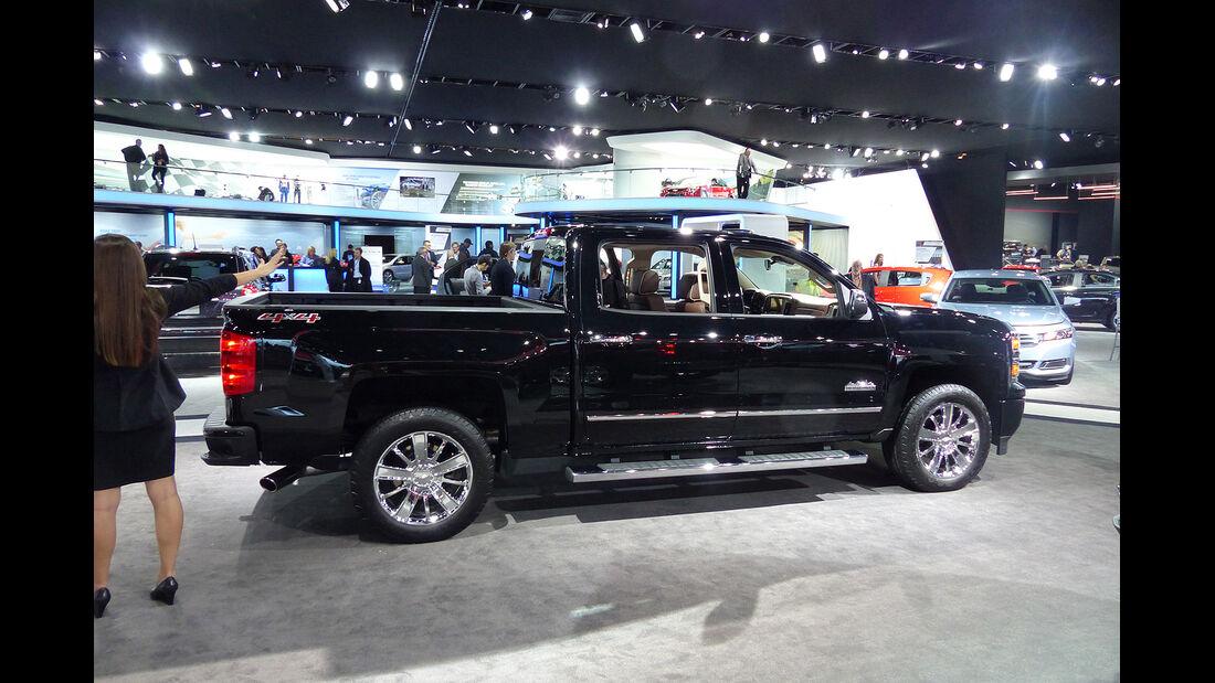 Chevrolet Silverado High Country, NAIAS 2014, Detroit Motor Show