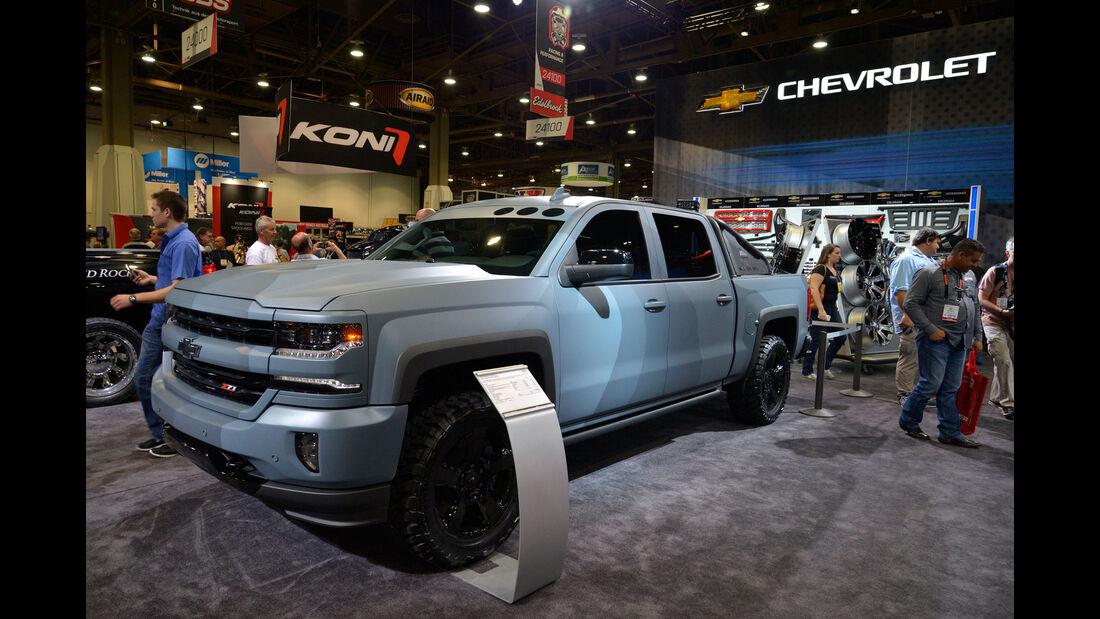 Chevrolet Silverado Special Ops Concept - SEMA 2015 - Las Vegas