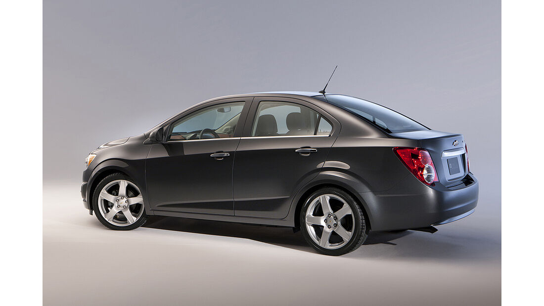 Chevrolet Sonic, Limousine, Fließheck