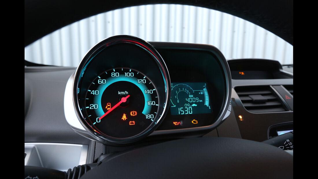 Chevrolet Spark 1.2 LTZ, Rundinstrumente