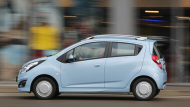 Chevrolet Spark 1.2 LTZ, Seitenansicht