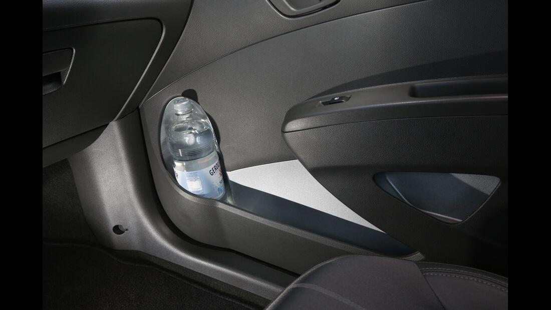 Chevrolet Spark 1.2 LTZ, Türablage, Stauraum