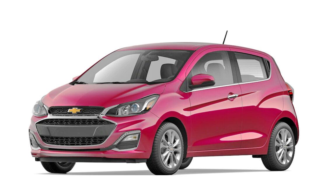 Chevrolet Spark Pink