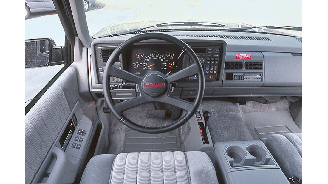 Chevrolet Suburban, Cockpit