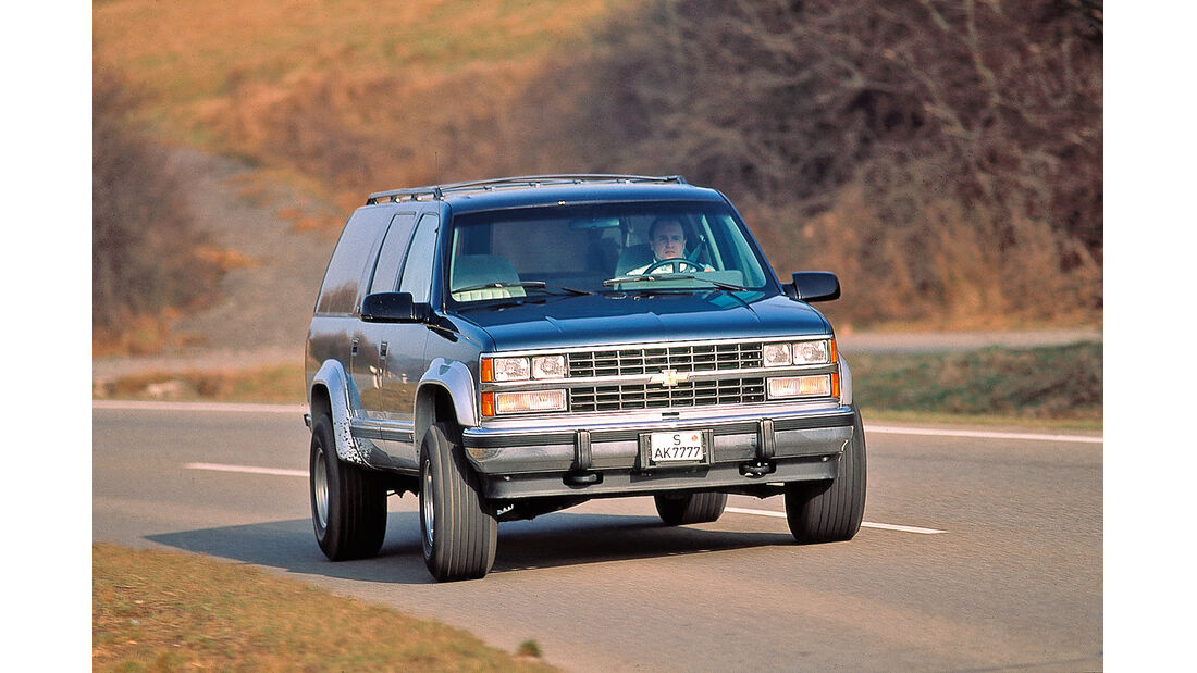 Chevrolet Suburban, Frontansicht