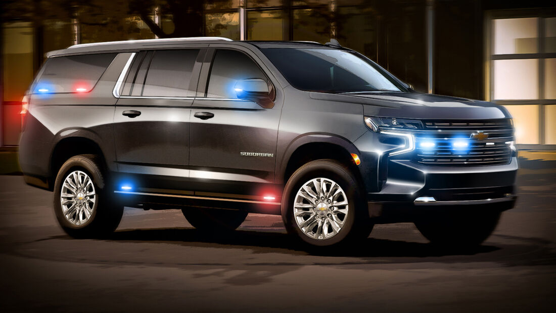 Chevrolet Suburban - GM Defence Large Support Utility Commercial Vehicle