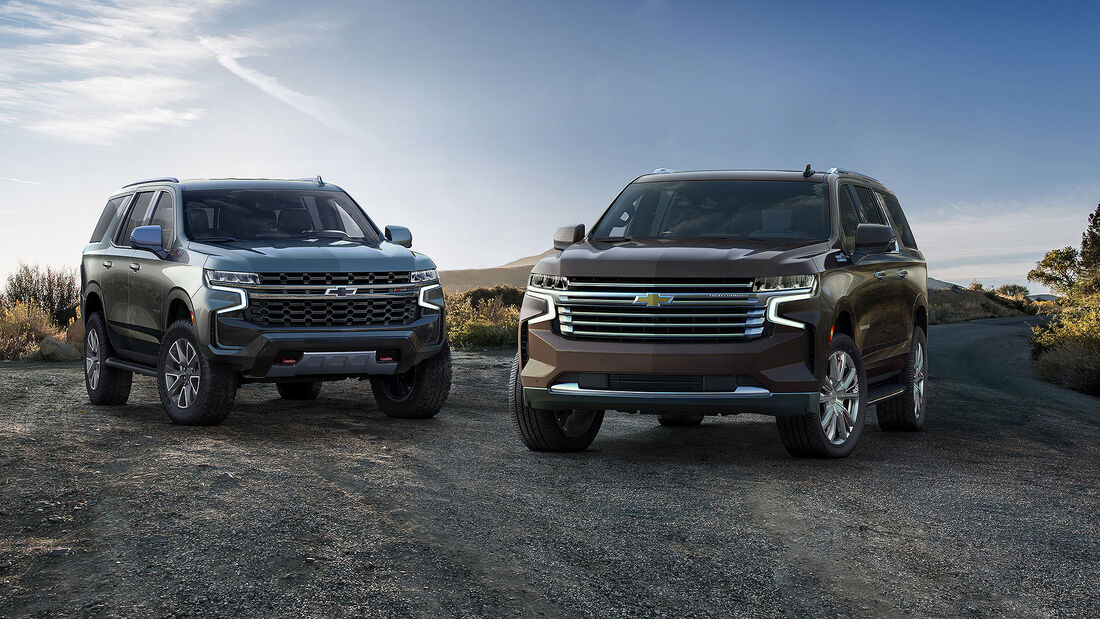 Chevrolet Tahoe MY 2021
