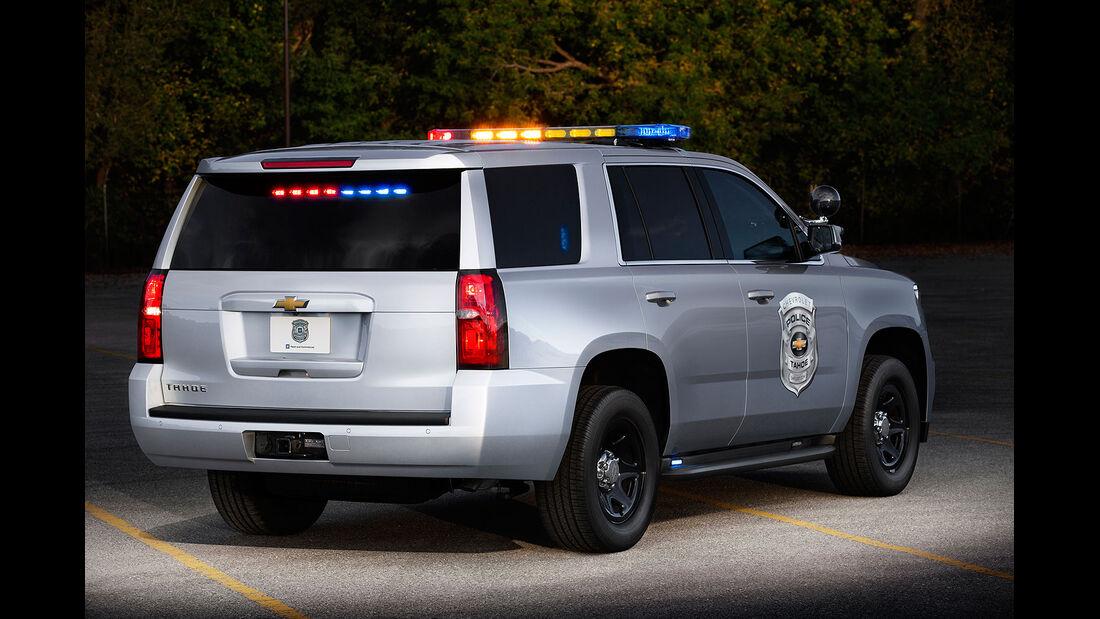 Chevrolet Tahoe Police Concept Sema 2013