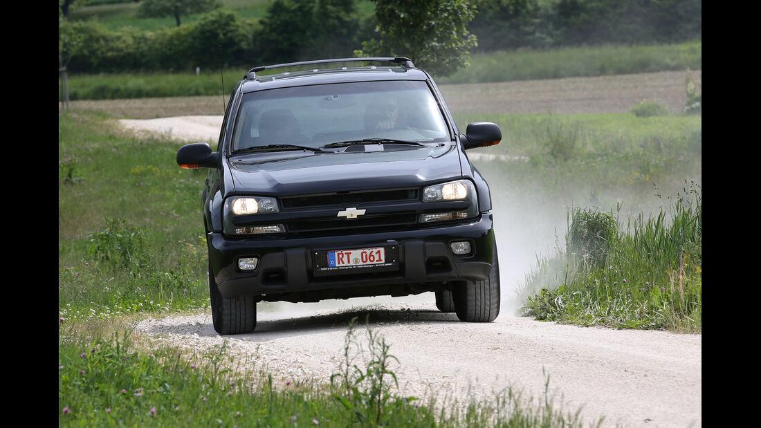 Chevrolet Trailblazer, Frontansicht