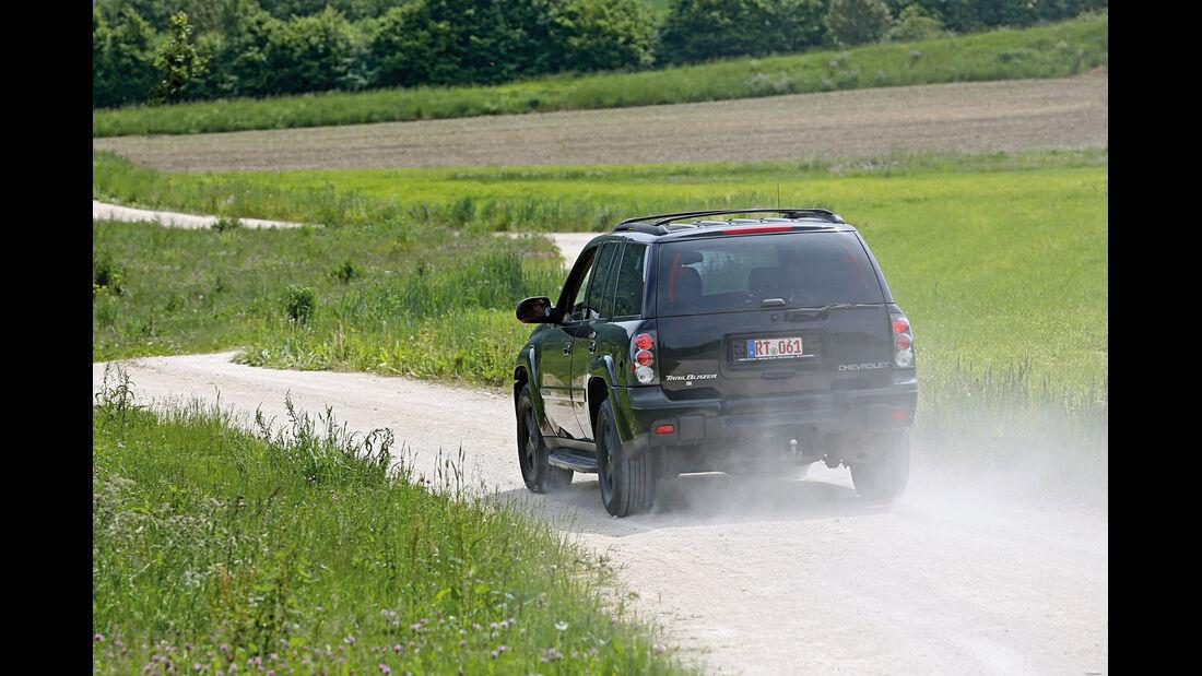 Chevrolet Trailblazer, Heckansicht